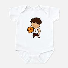 BASKETBALL *8* {crimson} Infant Bodysuit
