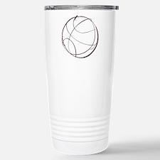 BASKETBALL *9* {crimson} Travel Mug