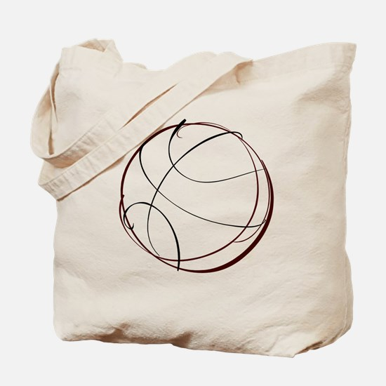 BASKETBALL *9* {crimson} Tote Bag