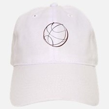 BASKETBALL *9* {crimson} Baseball Baseball Cap