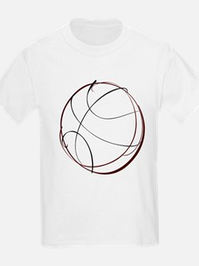 BASKETBALL *9* {crimson} T-Shirt