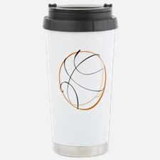 BASKETBALL *9* {orange} Travel Mug