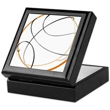 BASKETBALL *9* {orange} Keepsake Box
