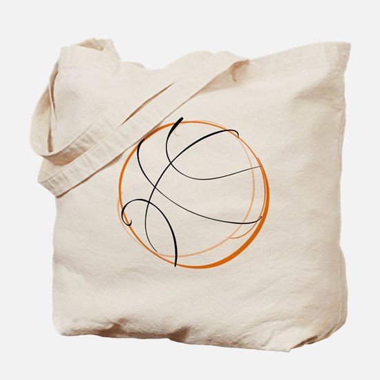 BASKETBALL *9* {orange} Tote Bag