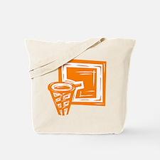BASKETBALL *10* {orange} Tote Bag