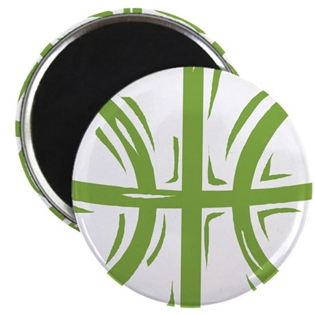 BASKETBALL *11* {green} Magnet