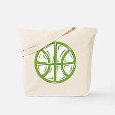 BASKETBALL *11* {green} Tote Bag