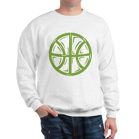 BASKETBALL *11* {green} Sweatshirt