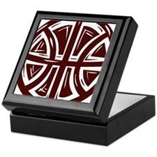 BASKETBALL *12* {crimson} Keepsake Box