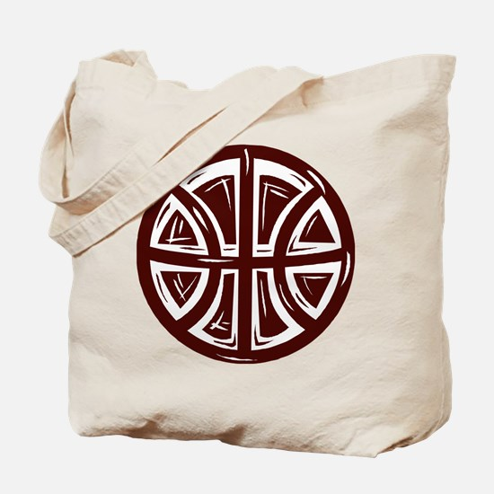 BASKETBALL *12* {crimson} Tote Bag