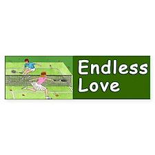 """""""ENDLESS LOVE"""" Bumper Sticker"""