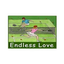 """ENDLESS LOVE"" Rectangle Magnet"