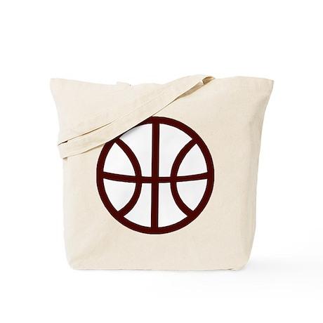 BASKETBALL *15* {crimson} Tote Bag
