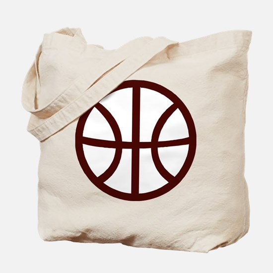 BASKETBALL *15* {crimson} Tote Bag
