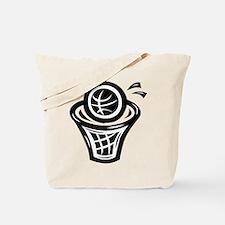 BASKETBALL *13* {black} Tote Bag