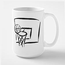 BASKETBALL *18* {gray} Mug