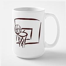 BASKETBALL *18* {crimson} Mug