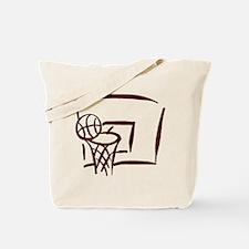 BASKETBALL *18* {crimson} Tote Bag