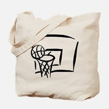 BASKETBALL *18* {black} Tote Bag