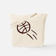 BASKETBALL *19* {crimson} Tote Bag