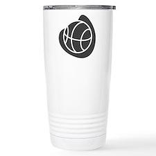 BASKETBALL *20* {gray} Travel Mug