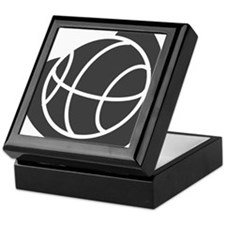 BASKETBALL *20* {gray} Keepsake Box