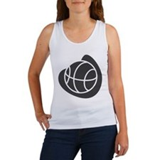 BASKETBALL *20* {gray} Women's Tank Top