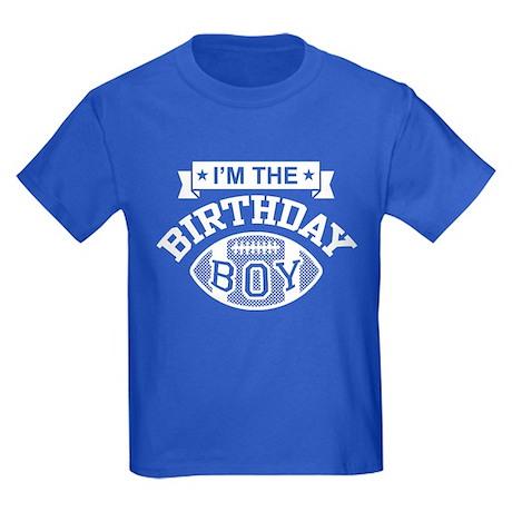 I'm The Birthday Boy Kids Dark T-Shirt