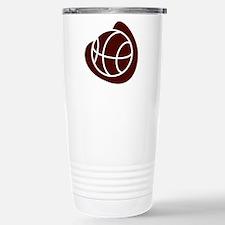 BASKETBALL *20* {crimson} Travel Mug
