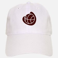 BASKETBALL *20* {crimson} Baseball Baseball Cap