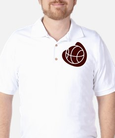 BASKETBALL *20* {crimson} T-Shirt