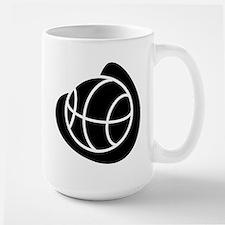 BASKETBALL *20* {black} Large Mug