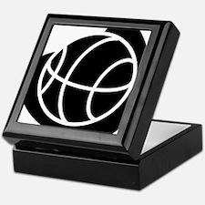 BASKETBALL *20* {black} Keepsake Box