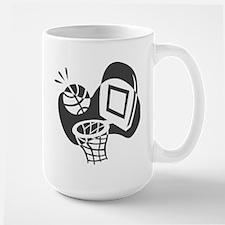 BASKETBALL *21* {gray} Mug