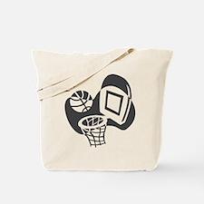 BASKETBALL *21* {gray} Tote Bag