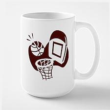 BASKETBALL *20* {crimson} Mug