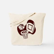 BASKETBALL *20* {crimson} Tote Bag