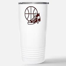 BASKETBALL *22* {crimson} Travel Mug