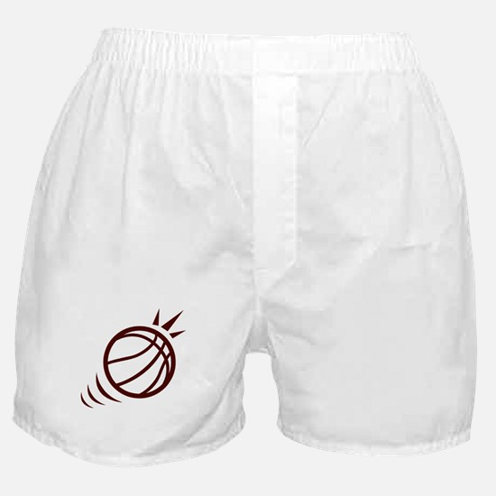 BASKETBALL *23* {crimson} Boxer Shorts