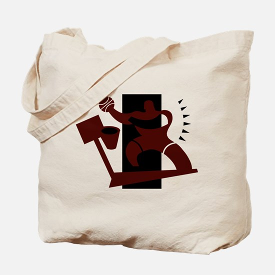 BASKETBALL *25* {crimson} Tote Bag