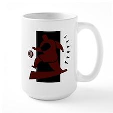 BASKETBALL *26* {crimson} Mug