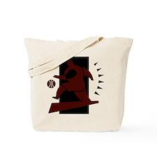 BASKETBALL *26* {crimson} Tote Bag