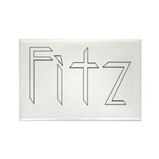 Fitz Rectangle Magnet (Great for Lockers)