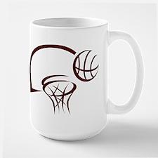 BASKETBALL *31* {crimson} Mug