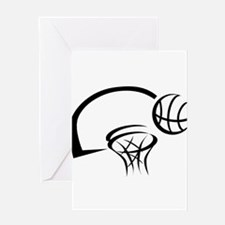 BASKETBALL *31* {black} Greeting Card