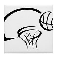 BASKETBALL *31* {black} Tile Coaster