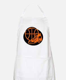 BASKETBALL *32* [orange} Apron