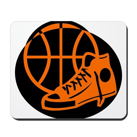 BASKETBALL *32* [orange} Mousepad