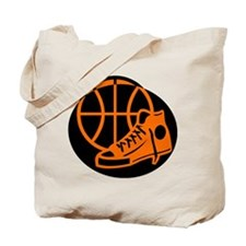 BASKETBALL *32* [orange} Tote Bag