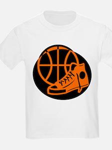 BASKETBALL *32* [orange} T-Shirt
